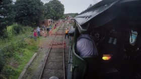 BBC Flying Scotsman from the Footplate 1080p HDTV x265 AAC mp4 EZTV