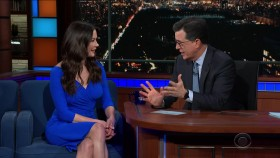 Stephen Colbert 2018 12 03 Catherine Zeta Jones 720p WEB x264-TBS EZTV